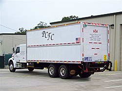 Preferred Commercial Floor Covering Truck